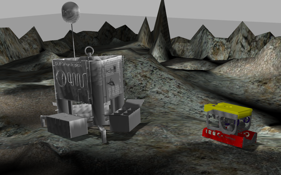 The Jacobs team have developed DexROV's simulation environment as part of their first deliverable.